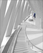 Treppe im Mercedes Museum