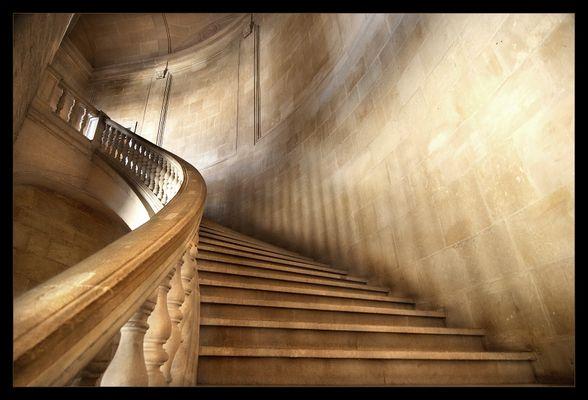 Treppe im Palast von Karl der Fünfte