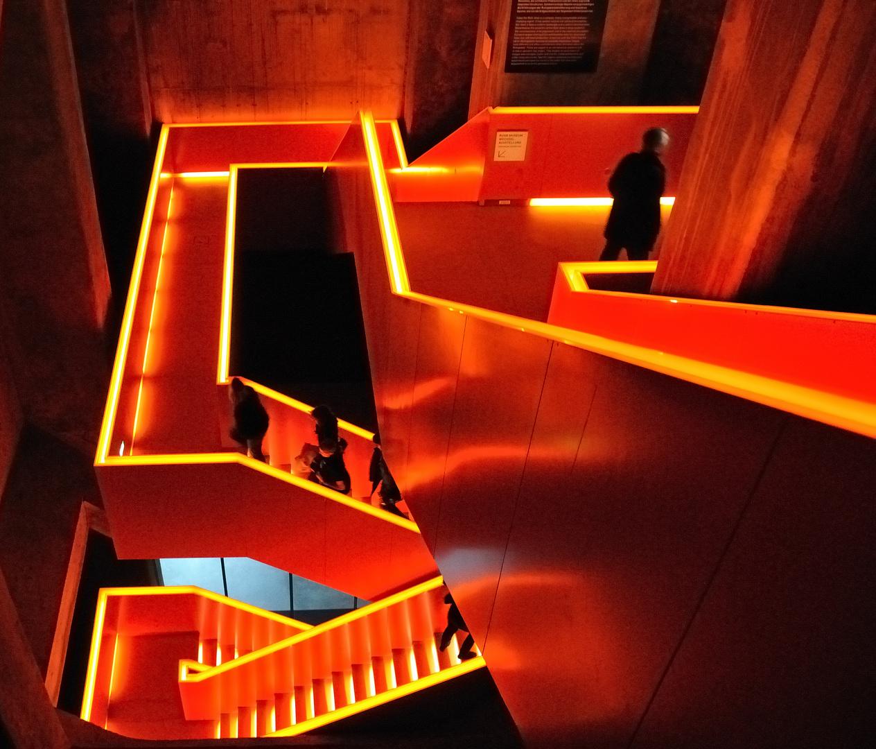 Treppen Essen treppe im ruhrmuseum essen zeche zollverein foto bild