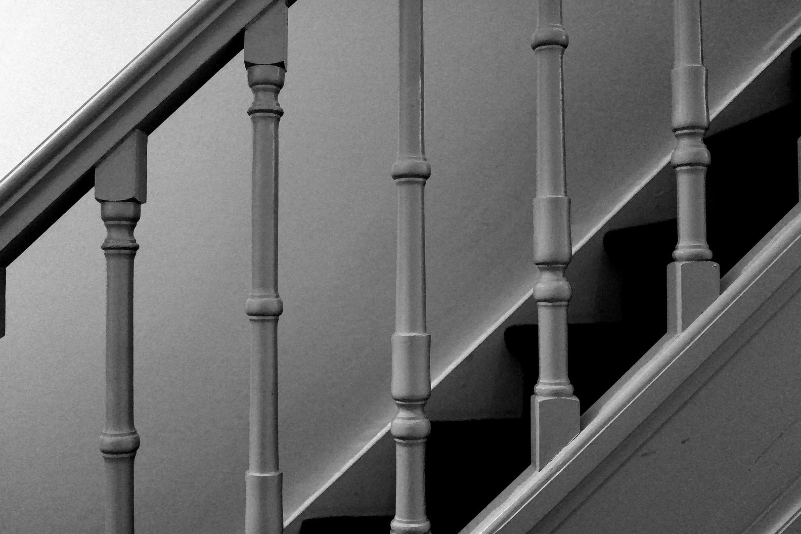 Treppe im Schlösschen