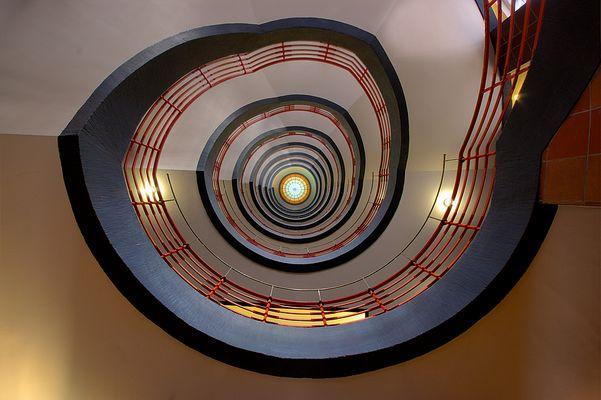 Treppe im Sprinkenhof, Hamburg