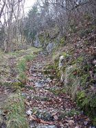 Treppe in Balsthal zur Burg