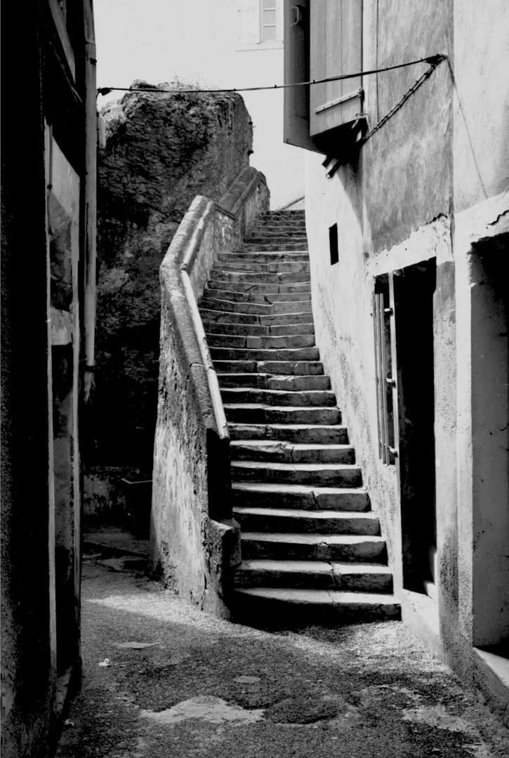 Treppe in Crest