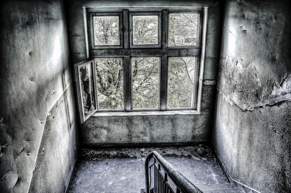 Treppe in den Untergrund