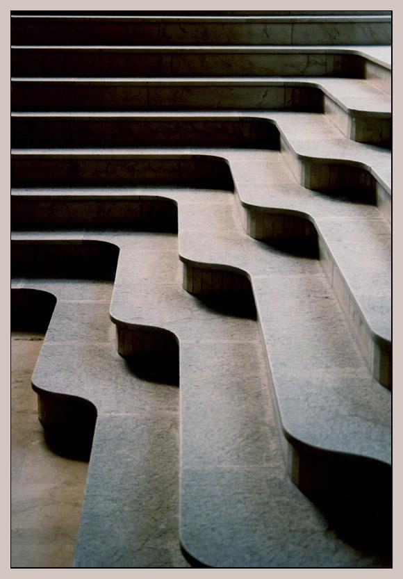 Treppe in Denia