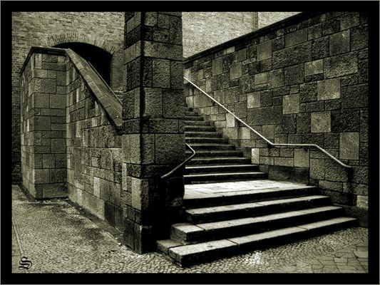 Treppe in der Müllerstraße