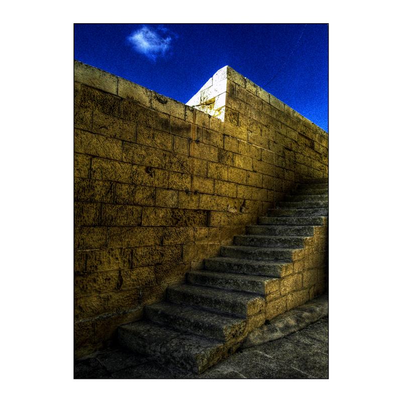 Treppe in der Zitadelle
