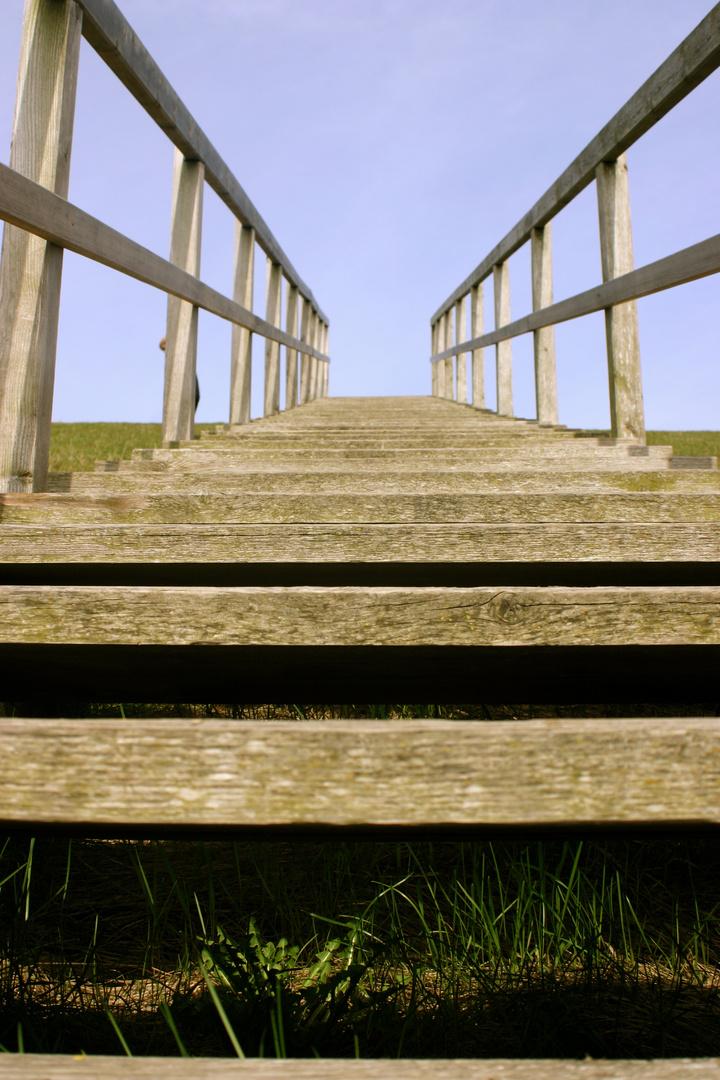 Treppe in die Unendlichkeit
