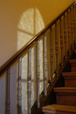 Treppe in Kirche