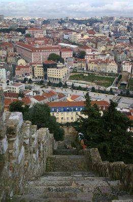 Treppe in Lissabon