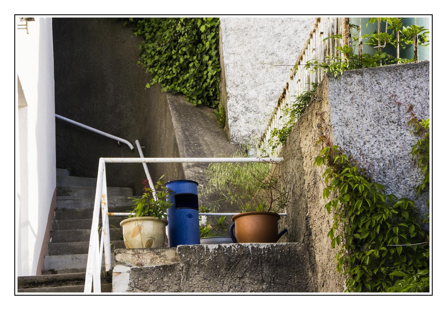 Treppe in Sasnitz