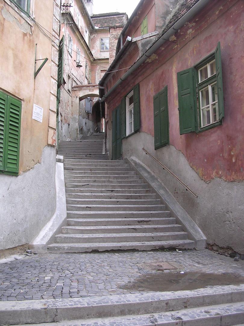 Treppe in Siebenbürgen