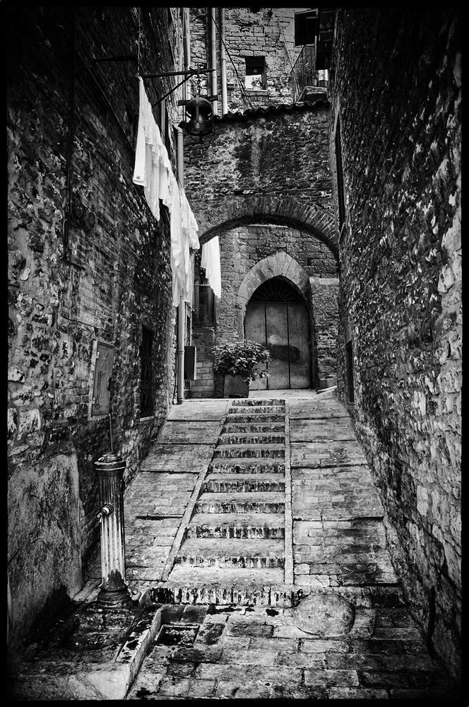 Treppe in Siena