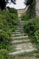 Treppe in Volterra