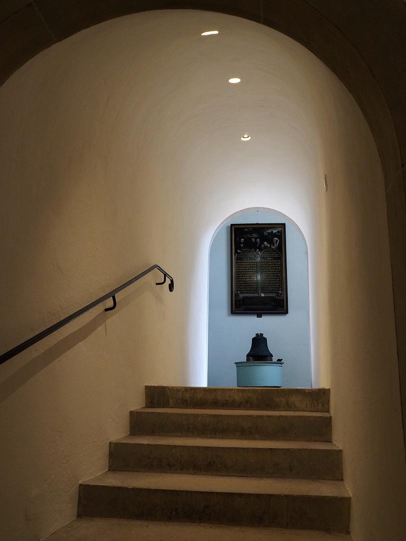 Treppe mit Ausblick