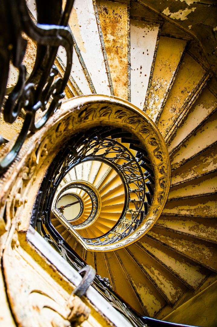 Treppe mit Geschichte