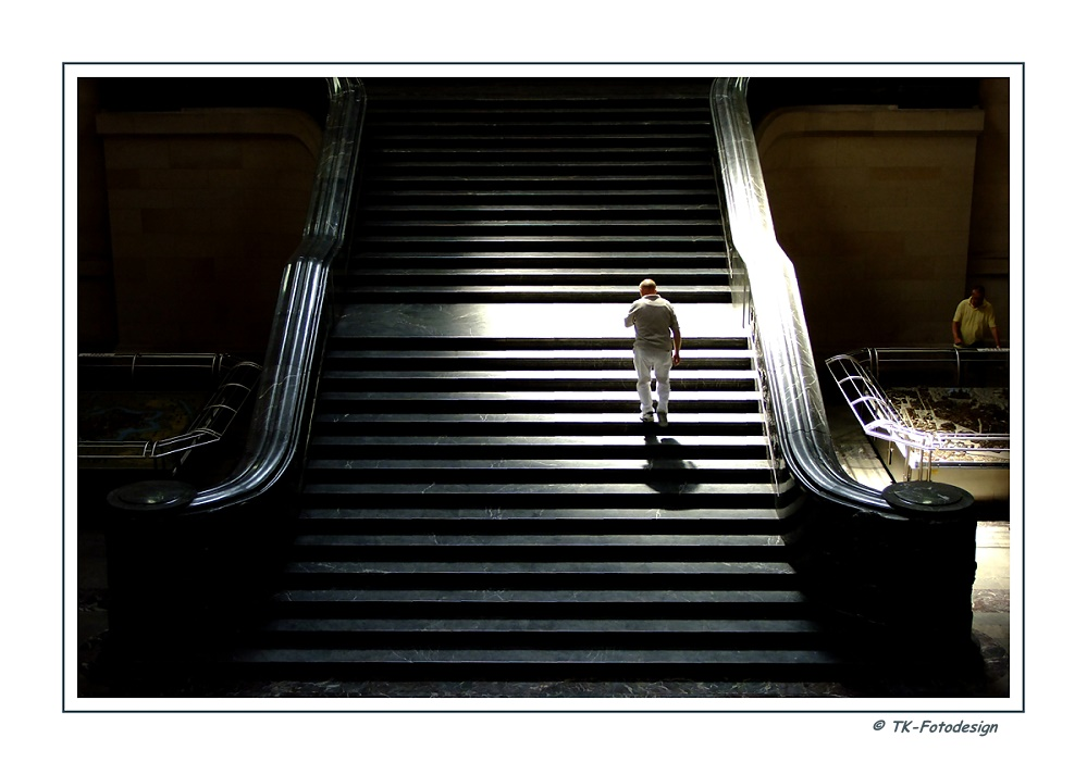 Treppe - Neues Rathaus Hannover