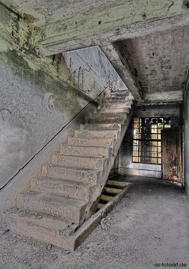 treppe rauf...