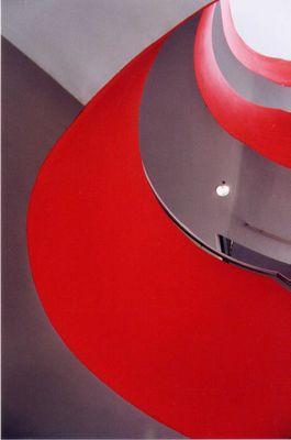 Treppe Rot-Weiß