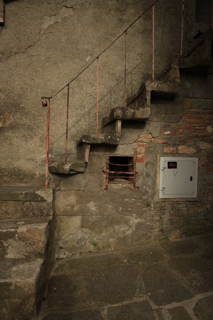 Treppe Toscana