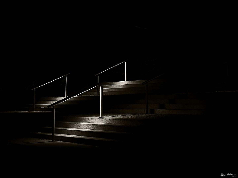 Treppe vor dem INI in Hannover