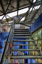 Treppe zu Atelier