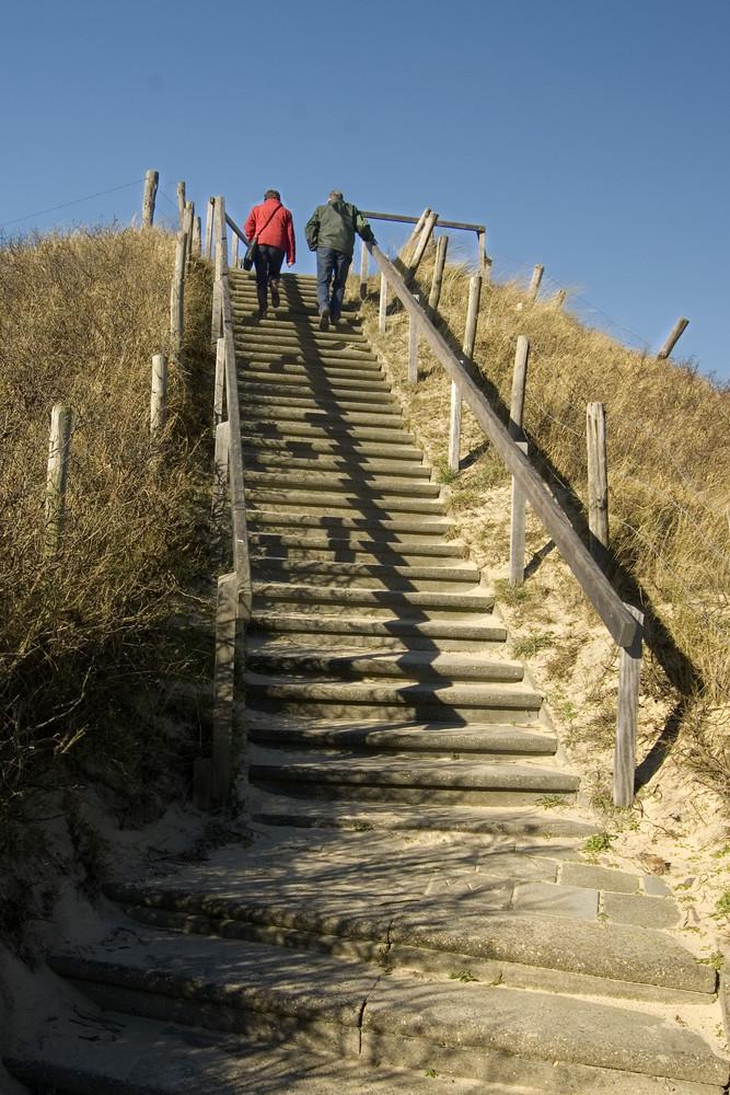 Treppe zum Himmel?
