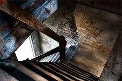 Treppe zum Klosterspeicher
