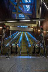 Treppe zum Labyrinth