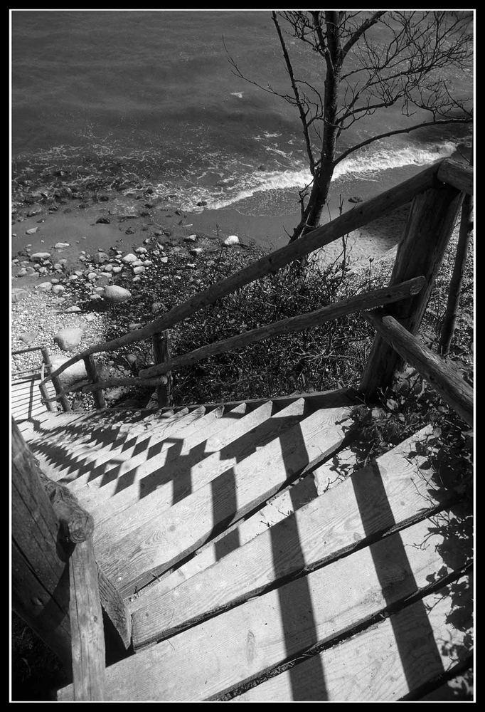 Treppe zum Meer...