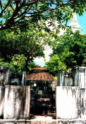 Treppe zum Tempel