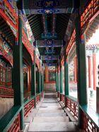 Treppe zum Tempel im Sommer Palast