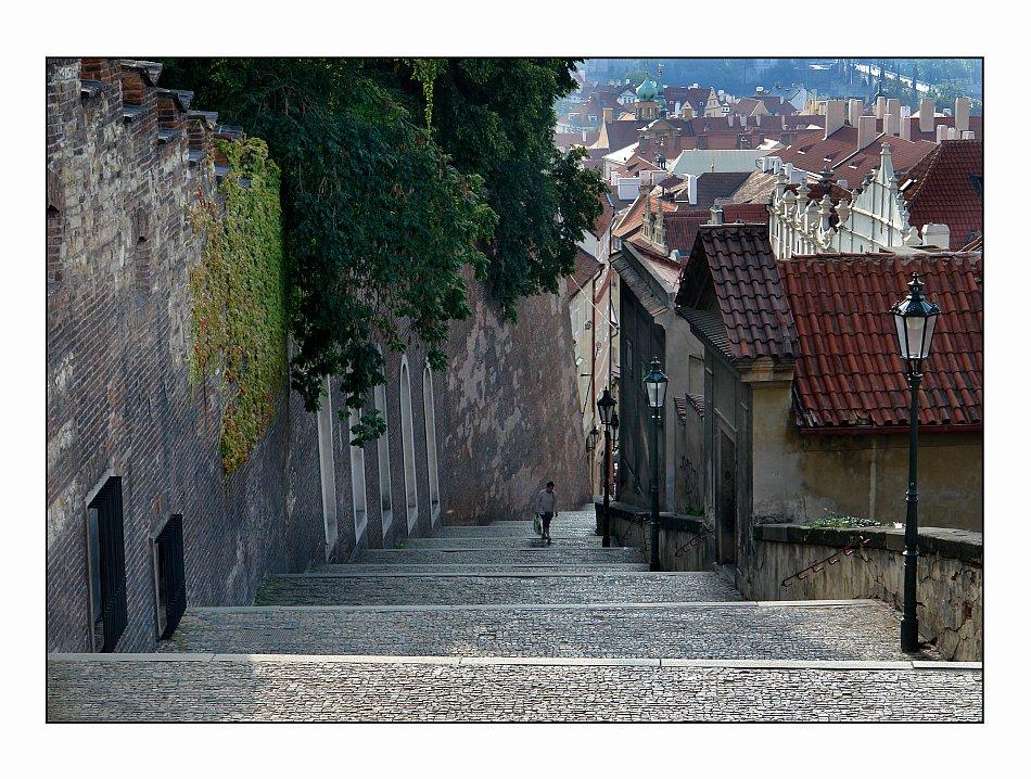 treppe zur burg --zamecki schody