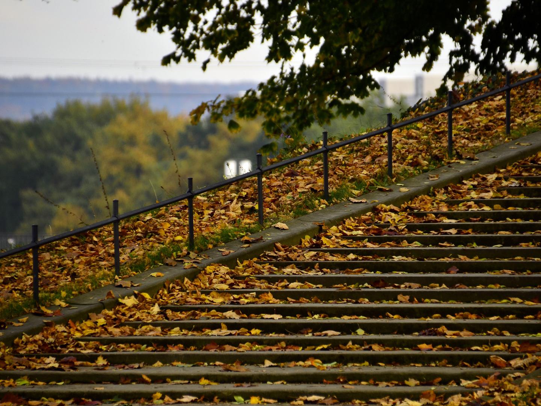 Treppe zur Jungfernbastei