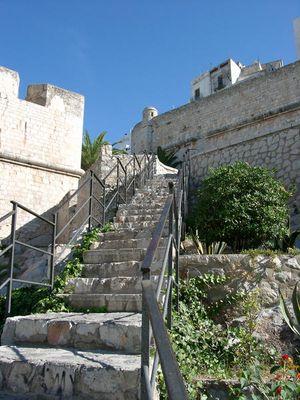 Treppe zur Zitadelle