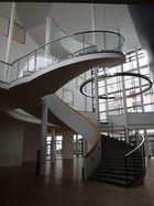 Treppe zwischen den Foyer`s der Erfurter Oper