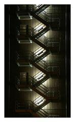 Treppen am Kraftwerk Heilbronn