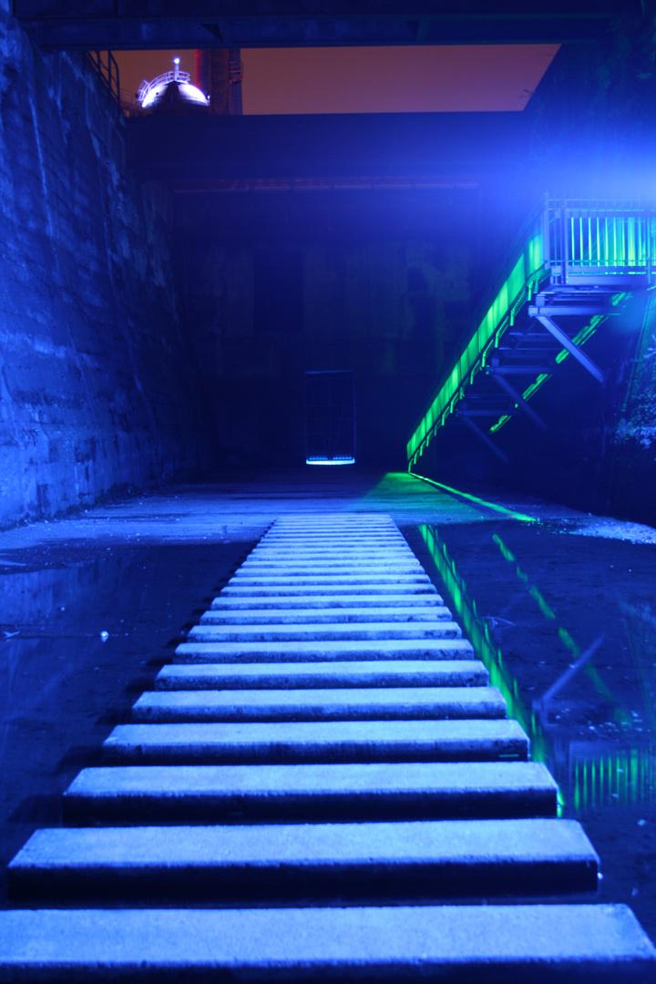 Treppen aus dem Wasser