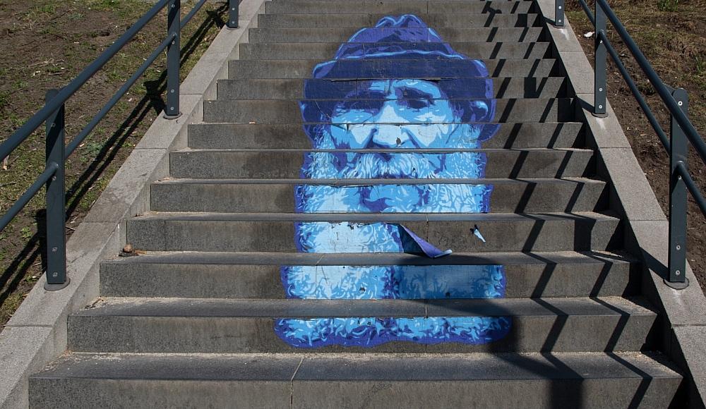 Treppen-Gesicht