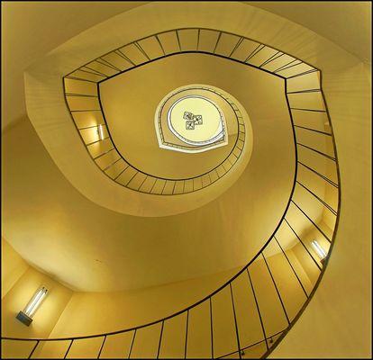 Treppen in Wilanow Palast