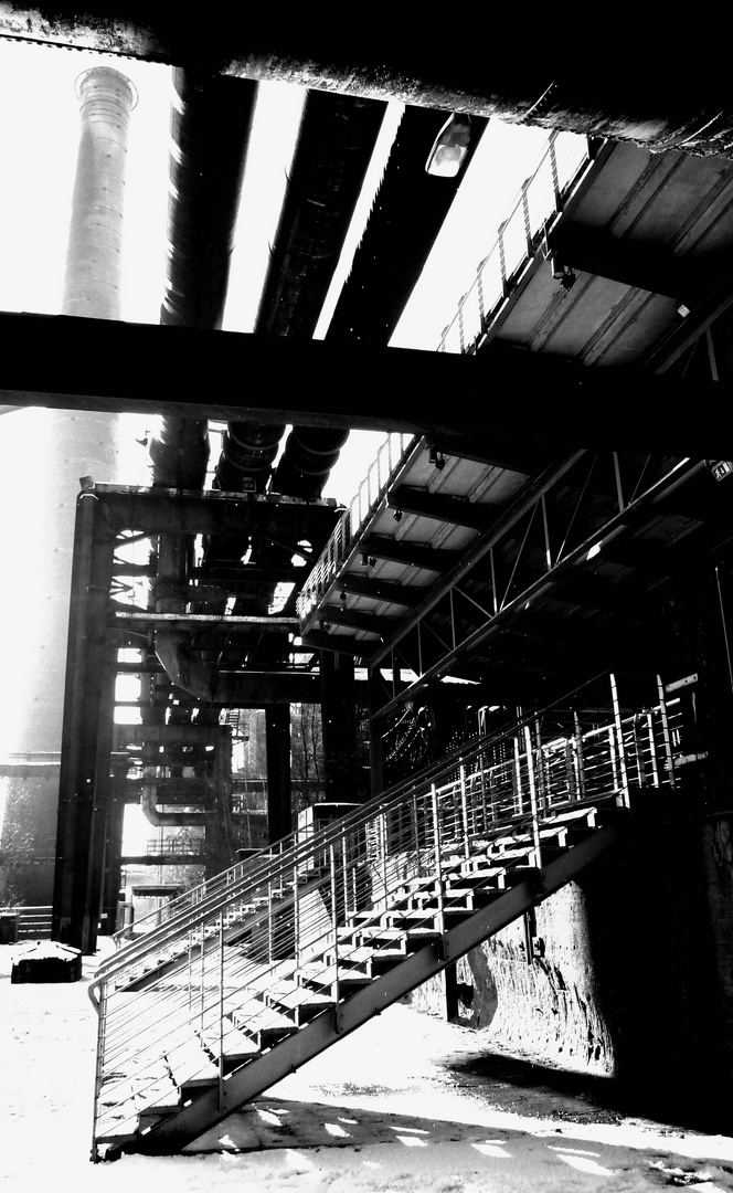 Treppen, Rohre, Türme