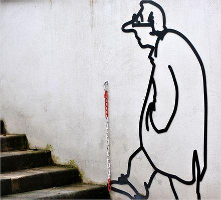 Treppen werden immer steiler