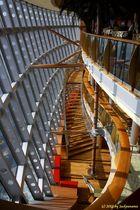 Treppenabgang - eine tolle futuristische Architektur