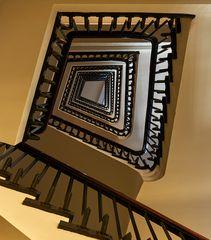 Treppenaufgang im Chilehaus.