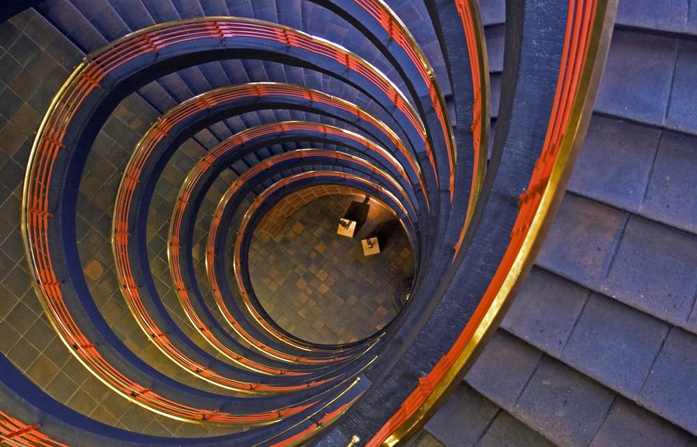 Treppenaufgang im Sprinkenhof II