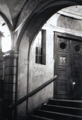 Treppenaufgang Lodz