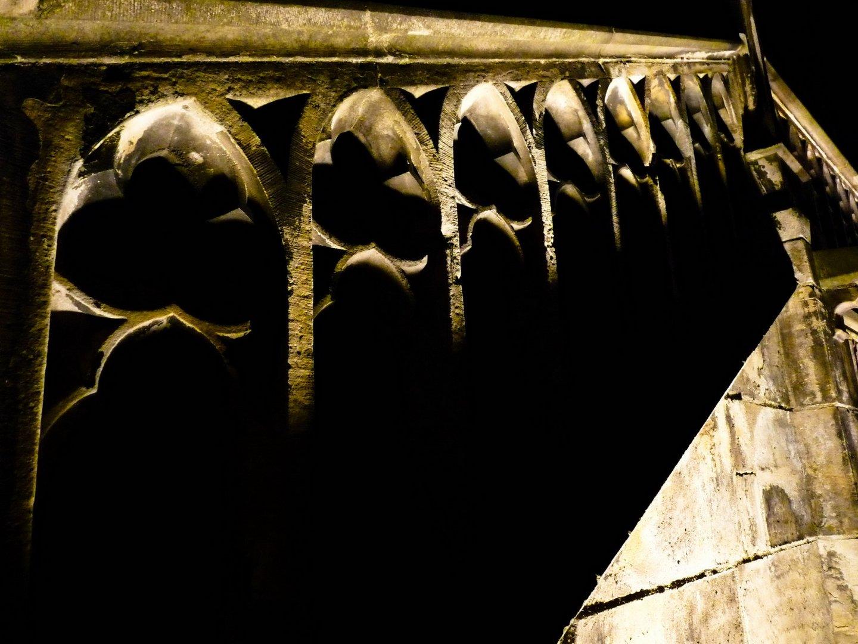 Treppenaufgang Rathaus Aachen