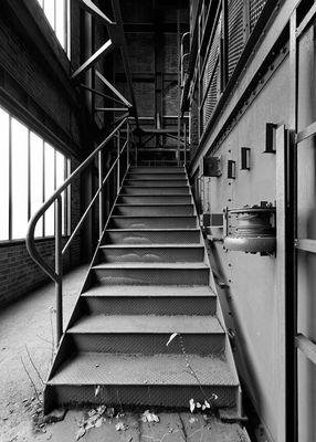 Treppenaufgang *sw* :Zollverein: