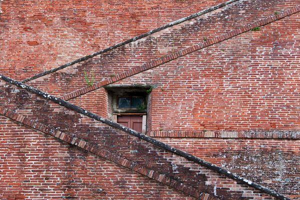 Treppenaufgang zur Villa di Medici