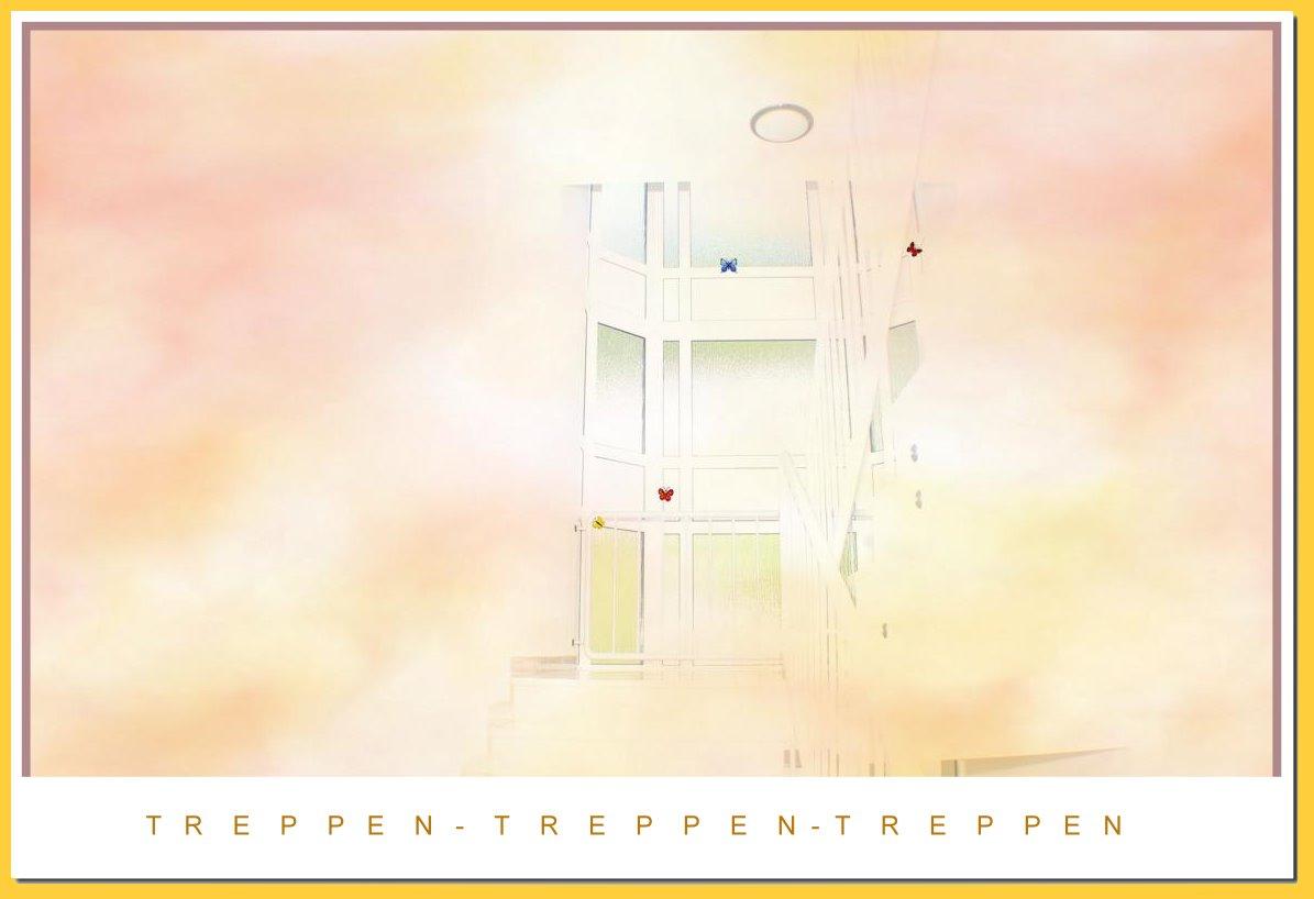 Treppenhaus...